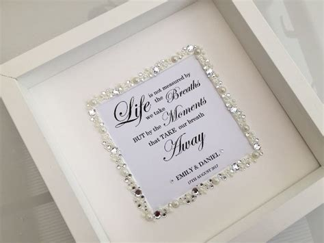 Wedding Box Frame by Wedding Box Frame Personalised
