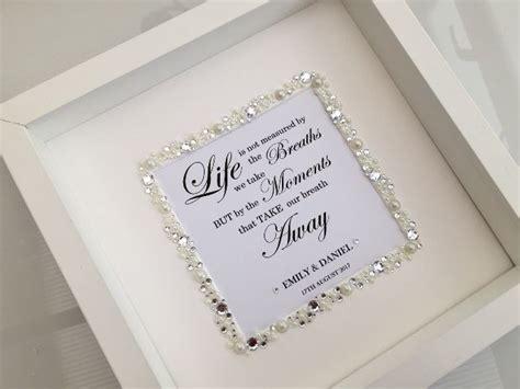 Wedding Box Uk by Wedding Box Frame Personalised