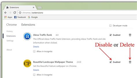 chrome remove extensions how to remove chrome extensions and themes chromeposta