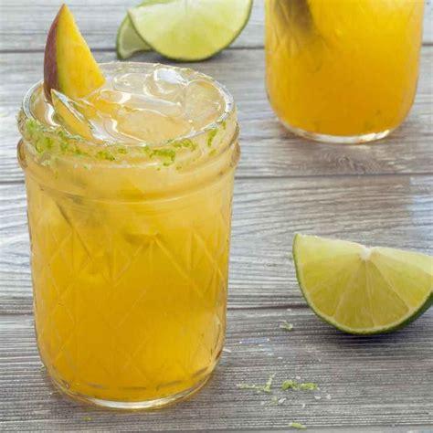 mango margarita mango margaritas recipe eatingwell