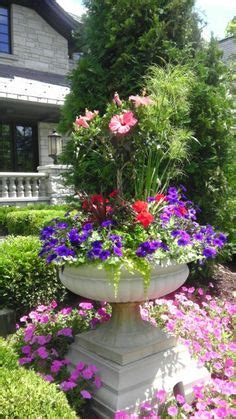 Summer Planter Ideas by Urn And Planter Ideas On Planters Container