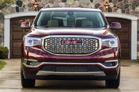 2020 gmc redesign 2020 gmc acadia slt changes release date interior