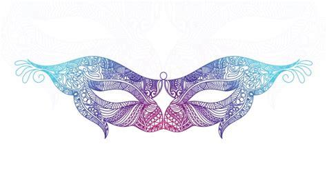 layout editor mask design pretty ornamental mask design vector premium download