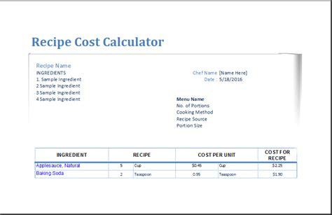 free cost to build calculator cost calculator excel template life cycle cost analysis