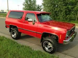 1977 Chevrolet Blazer Sell Used 1977 Chevy K5 Blazer In Albert Lea Minnesota