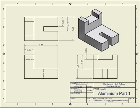 dimensioning and sectioning in engineering drawing activity 7 1 more dimensioning varshinee s portfolio