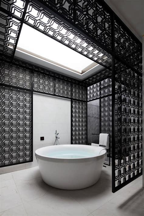 Decoration De Salle Noir Et Blanc by 10 Id 233 Es D 233 Co Salles De Bain Noir Et Blanc Contemporaines
