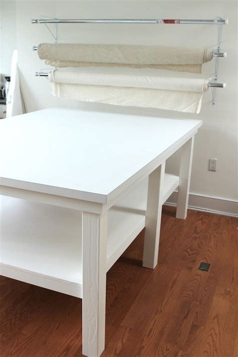 studio printing table is done for sewing and crafts room