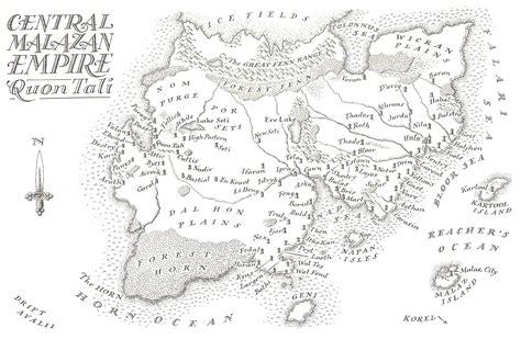 malazan map malazan maps of the fallen atlas of and