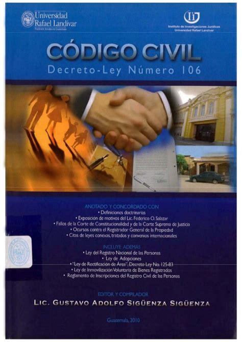gua de co de 8428207984 codigo civil guatemala
