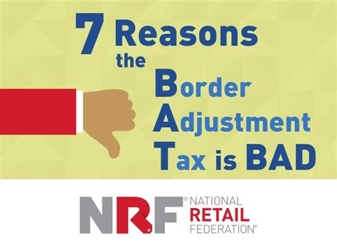 7 Reasons Why Is Horrible by 7 Reasons The Border Adjustment Tax Is Bad