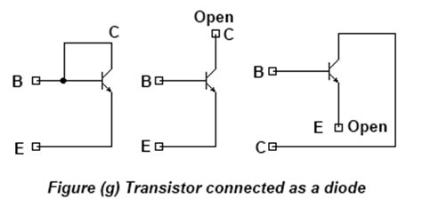 transistor and diode integrated components in ic fabrication process