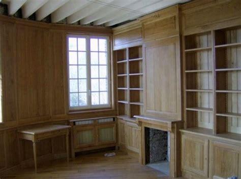 commessa libreria librerie in legno roma