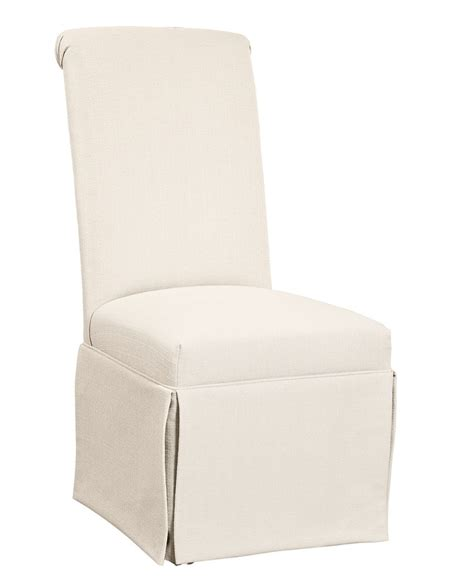 Skirted Parsons Dining Chairs Clean Looking Andorra Dining Chair Skirted Parsons Dining Room Furniture Furniture Macy