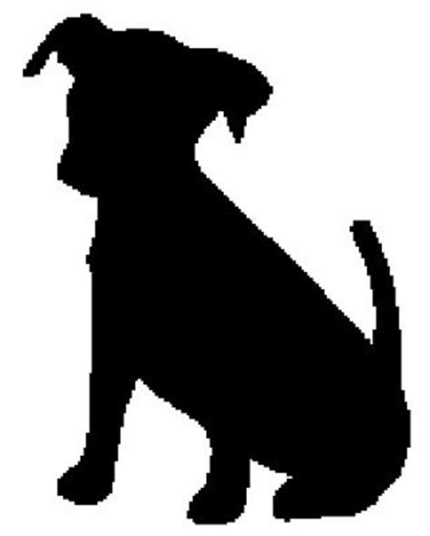 puppy silhouette silhouette alaska and silhouette on