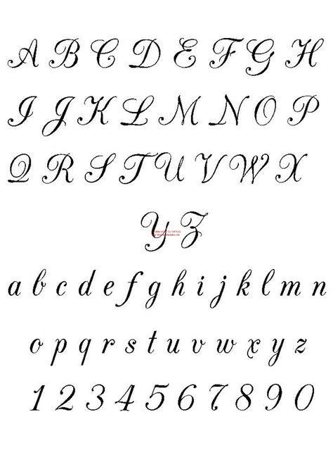 printable tattoo fonts free fonts calligraphy free download tattoo 3504