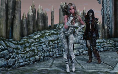 hack game demon hunter mod white demon hunter armor unp retexture at skyrim nexus