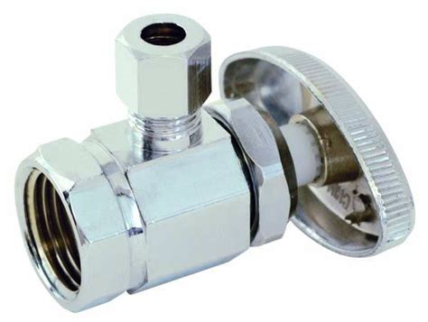 Angle Stop Plumbing by And Angle Water Supply Valves