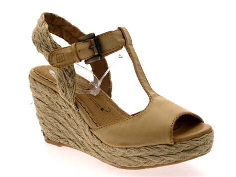 summer wedge sandals womens hessian rope wedge platform tbar sandals summer