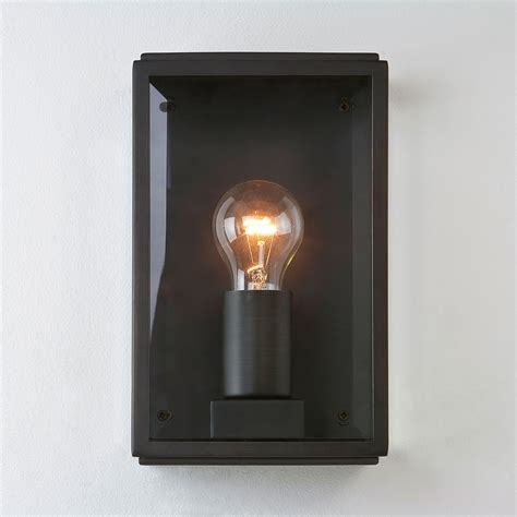 brass outdoor wall light astro homefield bronze outdoor wall light at uk electrical