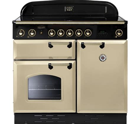 induction hob electric cookers buy rangemaster classic 100 electric induction range cooker brass free delivery currys