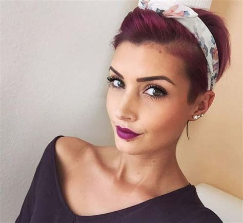 headbands on buzz cut hair 100 top pixie haircuts of all time style skinner