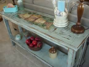 wood sofa table shabby beach cottage chic furniture