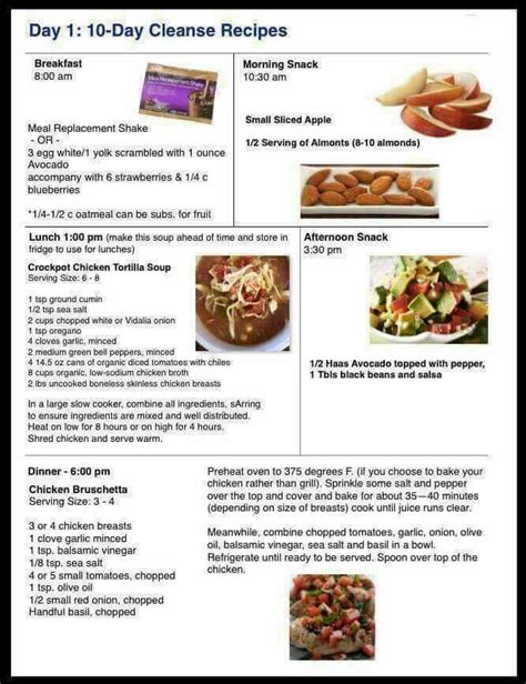 printable advocare recipes 68 best 24 day challenge friendly recipes and tips images