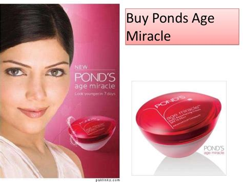 Olay Age Miracle ponds age miracle