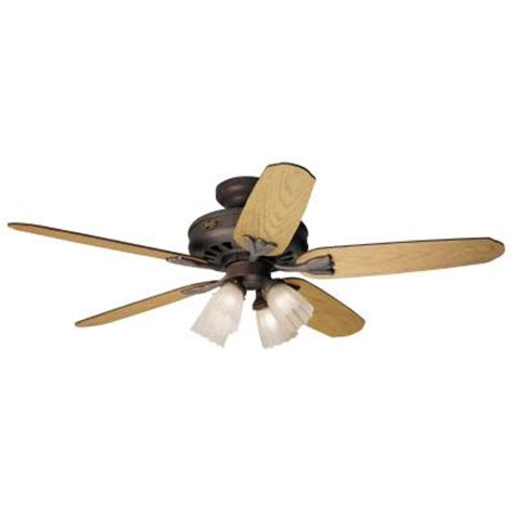 Home Depot Ceiling Fan Installation Price by 52 In Greenwich Weathered Brick Ceiling Fan