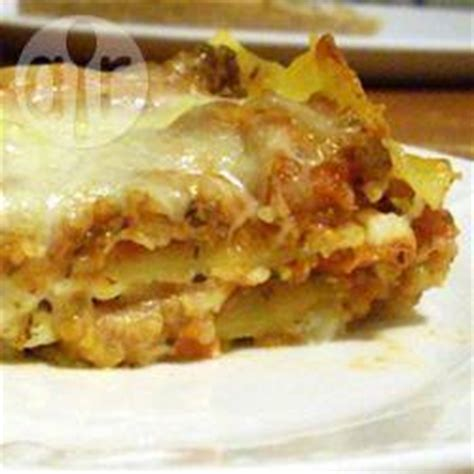 beef lasagne with cottage cheese recipe all recipes