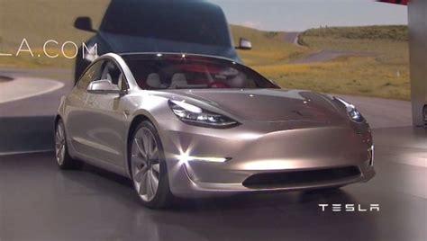Tesla Next Model Tesla Unveils Model 3 Next Green Car