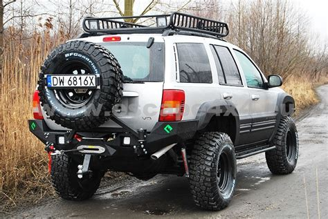 jeep grand cherokee rear bumper rear bumper bar backfire jeep grand cheeroke wj