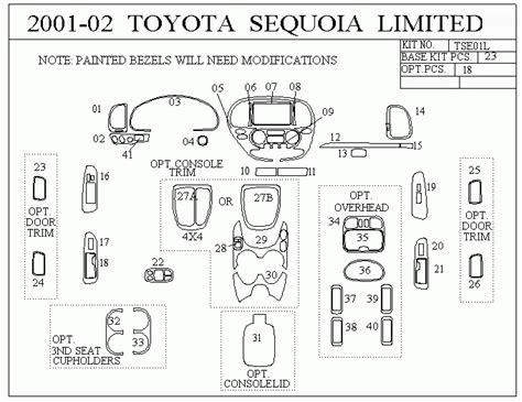 2001 toyota sequoia radio wiring diagram 2001 toyota