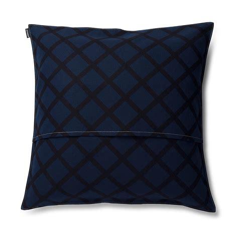 Navy Throw Pillow by Marimekko Quilt Navy Throw Pillow New Arrivals