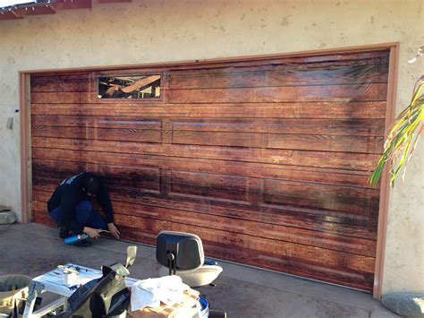 Garage Door Wraps Wall Wraps Door Wraps Auto Wraps Buena Park Ca