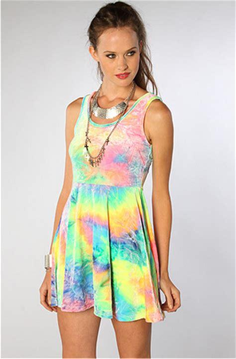 style tie dye pastel dress nickydigital smile