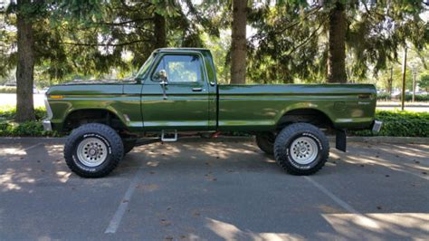 1976 ford f250 highboy for sale 1976 ford f250 4x4 highboy 390v8 60 s for sale