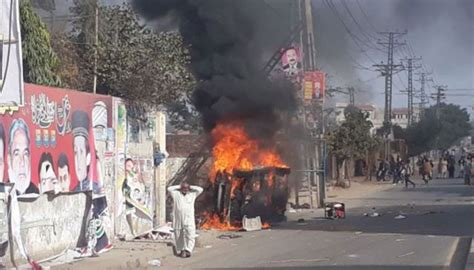 Kasur Air pml n mpas house attacked as protests continue in kasur pakistan getnewsviews
