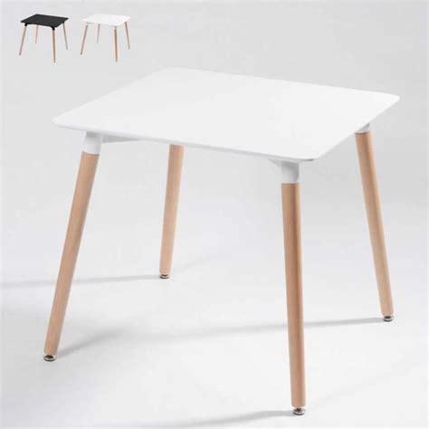tavolo eames tavolo dsw eamess daw in legno e polipropilene 80x80 bar