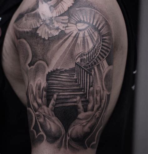 heavenly tattoos stairway to heaven gabreal hernandez royal craft