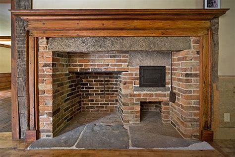 Historic Fireplaces by The Historic Noah Parsons House 1755 Williamsburg