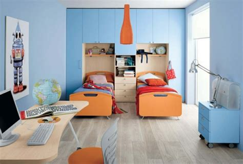 chambre enfant orange amazing storage solutions for your room