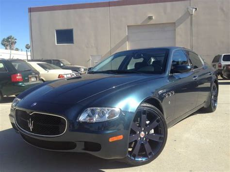 New 4 Door Maserati by Sell Used 2007 Maserati Quattroporte Sport Gt Sedan 4 Door