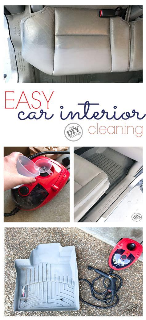 clean car interior the way the diy