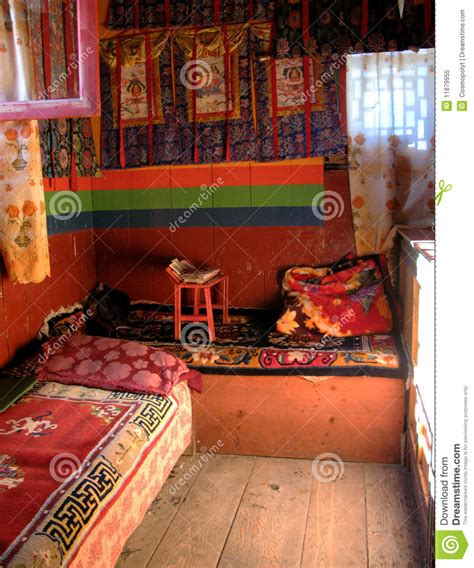 buddhist bedroom himalayan monastery a typical sherpa s bedroom royalty