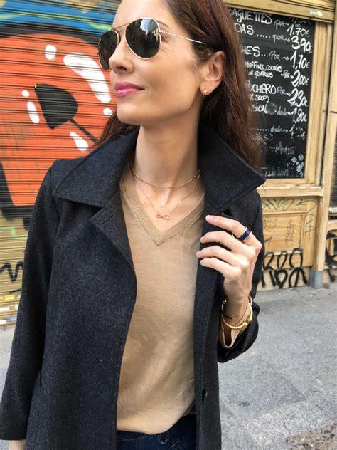 Style Eugenia Silva by Eugenia Silva Combina Su Look Con Pulsera Chiara De Maramz