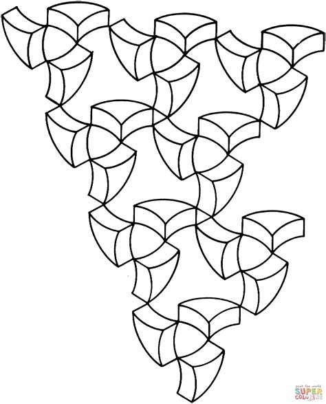 coloring pages illusions op art coloring pages coloring home