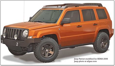 Jeep Patriot Modified Sema 2006 Chrysler Firing On All Cylinders