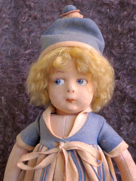 how to clean a lenci doll early lenci doll with the attached metal tag from